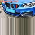 Протектор Parachoques Авто модификация защита стиль автомобильные аксессуары бампер стикер Стайлинг молдинги 18 19 для BMW 2 серии
