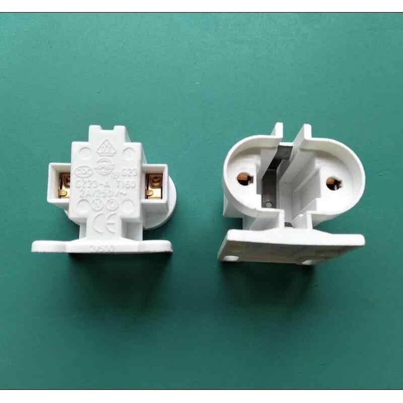 ספינה חינם 10 יח'\חבילה G23 מנורת בעל/H צינור 11W חיסכון באנרגיה LED אופקית Plug מנורת שקע g23 שתי מחט תקע אור בסיס