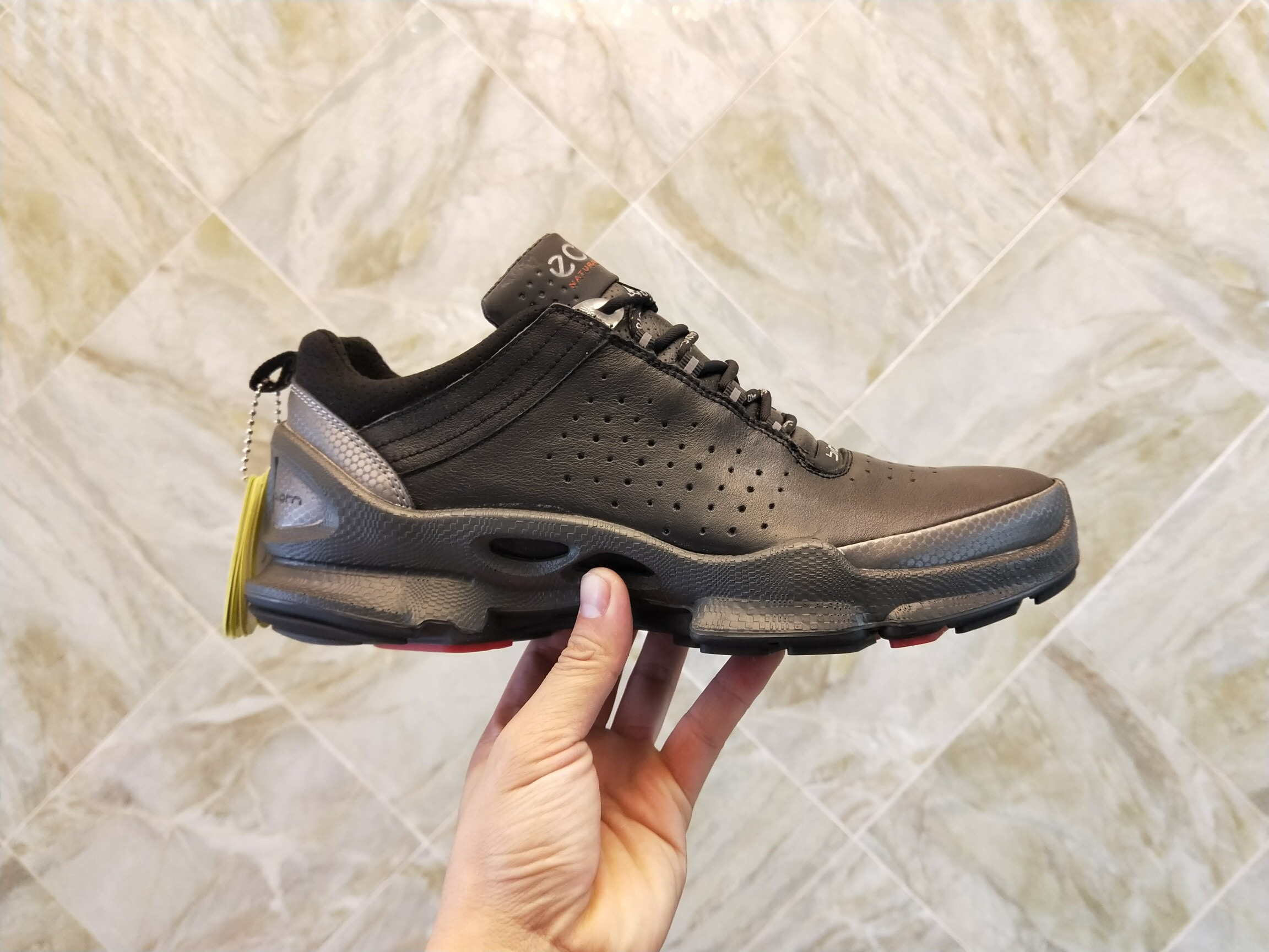 ECCO Men's Casual ShoesMen New Highest Quality Version Men Elastic Band Walking Men 091504