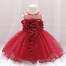 Newborn Baby Girl Dress for Girl 1 Year Birthday Dr