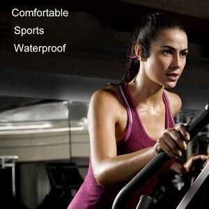 Image 3 - IPX8 wodoodporne słuchawki Bluetooth 5.0 z przewodnictwem kostnym bezprzewodowy zestaw słuchawkowy wbudowana karta pamięci 16GB Mic słuchawki sportowe słuchawki douszne