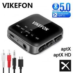 Bluetooth 5.0 récepteur Audio transmetteur CSR8675 aptX HD LL 3.5mm prise AUX RCA appel mains libres TV voiture amplificateur adaptateur sans fil