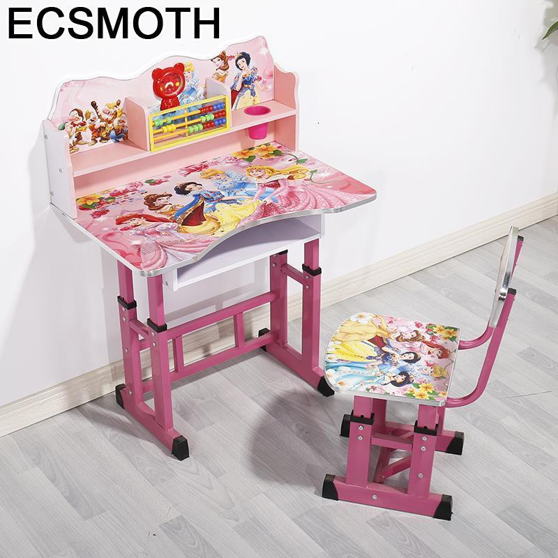 Infantil Stolik Dla Dzieci Pour Tavolino Tavolo Per Bambini Desk Kindertisch Adjustable Enfant Kinder Study Table For Kids