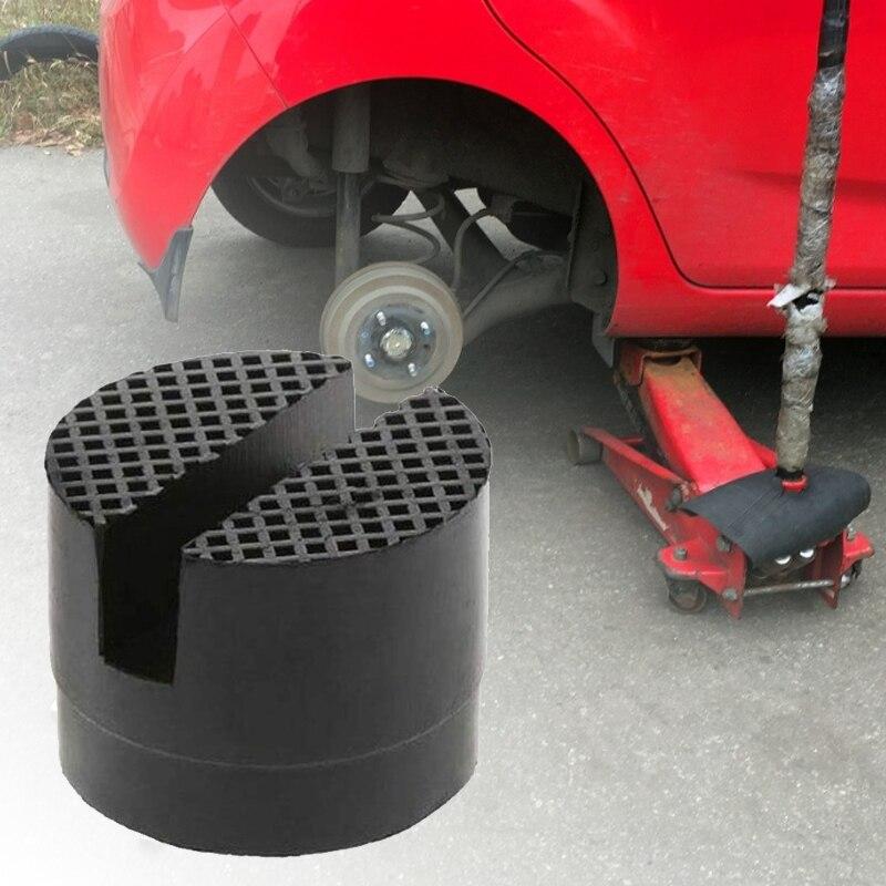 Универсальная подставка под автомобильный подъемник, резиновые прокладки, черная резиновая напольная подставка под домкрат, переходник на...
