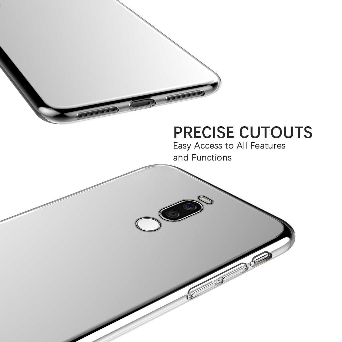 Czyste etui z TPU dla Meizu X8 16s C9 Pro C9 obudowa tylna przezroczysty miękki TPU odporna na upadek, odporna na wstrząsy ochrona pleców pokrywa dla Meizu X8