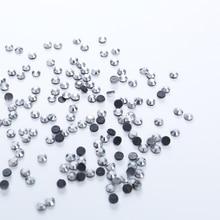 1440pcs Silver Wholesale DMC HotFix Rhinestone FlatBack Hot Fix Rhinestones Garment Crystal Rhinestone For Wedding Dress цены