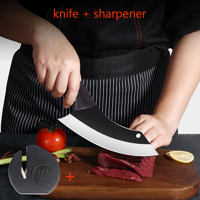 Handmade Chef Knife Clad Forged Steel Boning Slicing Butcher Kitchen Knives Meat Cleaver Kitchen Tools