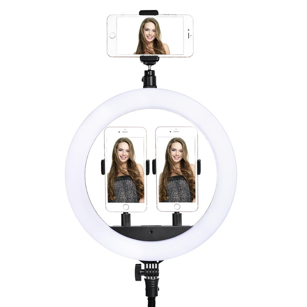 Top SaleFosoto Ring-Light Tripod Camera Photographic-Lighting Makeup Youtube-Video Phone SLP-R300