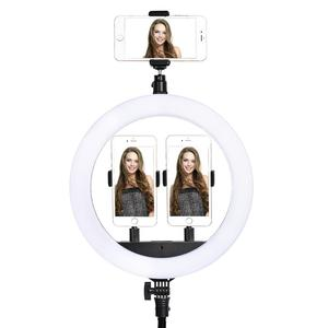 Image 5 - fosoto SLP R300 Ring Light 60W 300pcs Led Ring Lamp With Tripod Photographic lighting Ringlight For Camera Phone Makeup Youtube