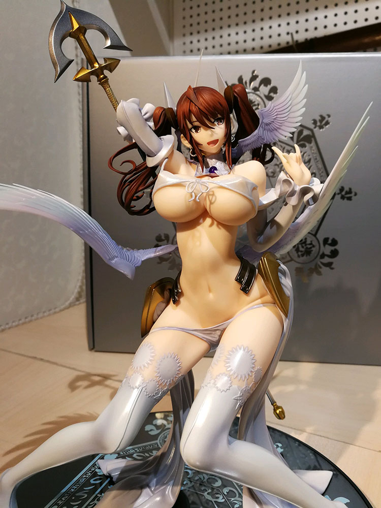 25cm Native RAITA Pure White Magical Girl Sexy Girls PVC Action Figures Toys Japanese Anime Collection Model Dolls