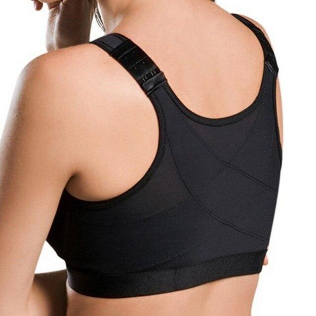 Posture Corrector Lift Up Bra Yoga Women Shockproof Sports Support Fitness Vest Bras Breathable Underwear Cross Back Corset Bra 6