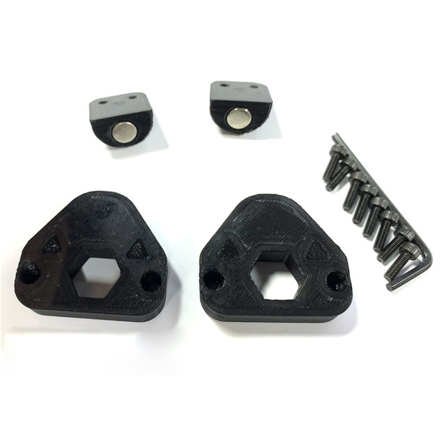 Replacement Gaming Steering Wheel Magnet Paddles Modification Kits for FANATEC Formula V2/ 918 RSR/ Universal Hub/M3 GT2