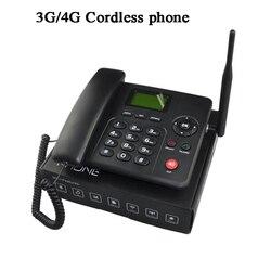 4G 3G FDD WCDMA GSM1 Sim card del telefono senza fili fisso Senza Fili del telefono FWP Lansline Quadrante telefono a gettone Chiamata SMS in/out di Telemarketing di Allarme