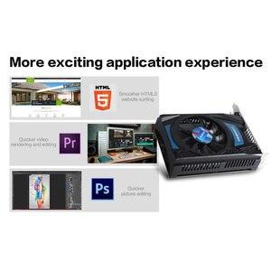 Image 2 - Yeston Radeon RX 550 GPU 4GB GDDR5 128bit komputer stacjonarny do gier PC karty graficzne wideo wsparcie DVI D/HDMI/DP PCI E 3.0