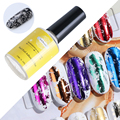 Клей-наклейка для ногтей, клейкая Фольга для ногтей, маникюр, УФ-Гель-лак, звездная бумага, перенос, печать, дизайн ногтей, аксессуар, штамп, п...
