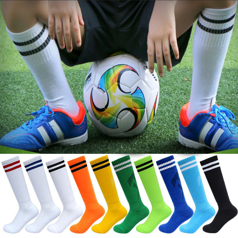 Fashion Kids Football Socks Mid Tube Baby Cotton Striped Leg Warmers Socks Boys Girls Children Clothes Parent-child Socks