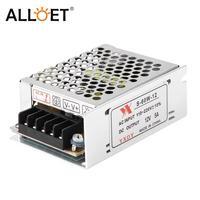 Adaptador de fuente de alimentación para tira de luz LED, transformador de iluminación de CA 90-260V a cc 12V 5A 60W, controlador LED