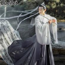 Chinês traje antigo tradicional hanfu vestido de dança terno tang dinastia casal cp vestido espadachim nacional roupa príncipe pano