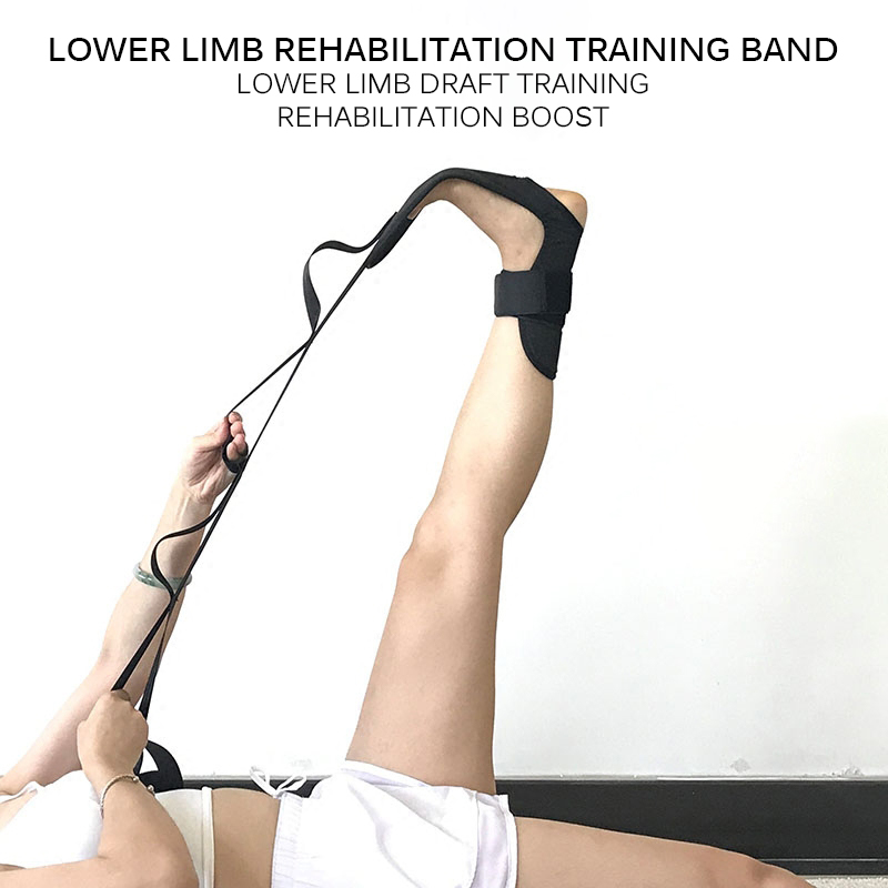 Yoga Flexibility Stretching Leg Stretcher Strap for Ballet Cheer Dance Gymnastics Trainer Yoga Flexibility Leg Stretch belt