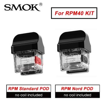 Oryginalny SMOK RPM40 RPM Pod i RPM Nord Pod kaseta dla RPM40 Pod zestaw do e-papierosa kaseta elektroniczny papieros parownik Atomizer tanie i dobre opinie CN (pochodzenie) RPM40 RPM Pod RPM Nord Pod Z żywicy Wymienny RPM40 Pod Vape KIT RPM Standard Pod