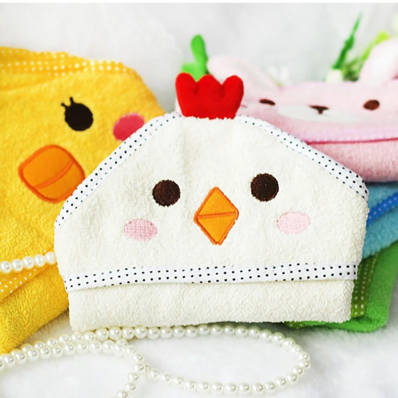 Pet Accessories Cute Cartoon Printed Soft Great Water Absorption Practical Durable Pet Towel