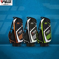 Pgm Portable Golf Stand Bag Golf Bags Men Women Waterproof Golf Club Set Bag With Stand 14 Sockets Outdoor Sport Cover Bag