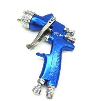 Weta HVLP new design 1.3mm spray gun pure AL forged airless spray gun for painting car furniture pneumatic tool air brush TT-W