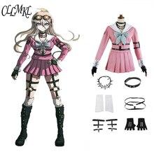 Anime Danganronpa V3: Doden Harmonie Iruma Miu Konijn Uniform Halloween Kerst custom made