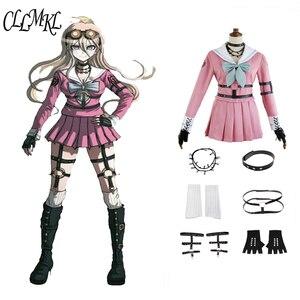 Image 1 - Anime Danganronpa V3: Killing Harmony Iruma Miu Rabbit Uniform Halloween Christmas  custom made