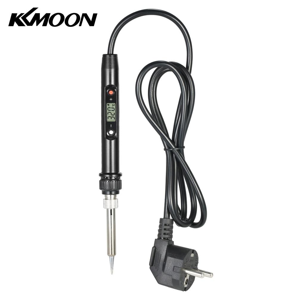 Soldering Iron 80W Professional LCD Digital Temperature Adjustable Tool Lead-free Mini Electric Soldering Iron