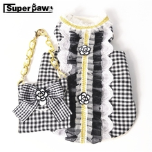 Fashion Summer Breathable Vest With Bag Winter Warm Waistcoat Pet Clothes Dogs Pets Clothing Cat Dog Pug T-shirt Costume AML20