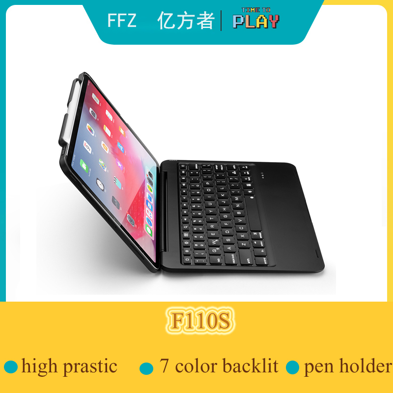 5.1 Bluetooth keyboard Wireless Case for Apple iPad Pro 11.1