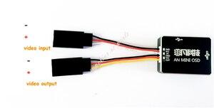 Image 5 - AN MINI OSD โมดูล DJI A2 NAZA V2 & Phantom สามารถพอร์ต 1 ถึง 3 HUB เปลี่ยน IOSD