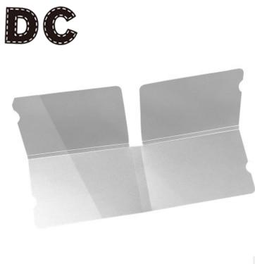 DC 1/10/50pcs  Transparent Face Mask Storage Case Disposable Mask Storage Clip Portable Mouth-muffle Organizer Mask Folder