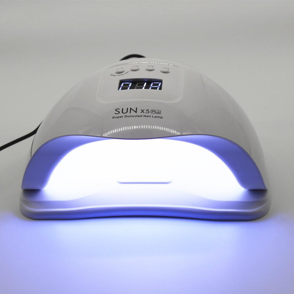Max Nail Dryer 80W SUN X5 LED Digital Nail Lamp Ice Lamp ForManicure Gel  Drying Lamp For Gel Varnish Nail Lamps