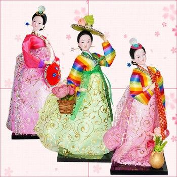 12inch Korea traditional Hanbok Model Figure  5