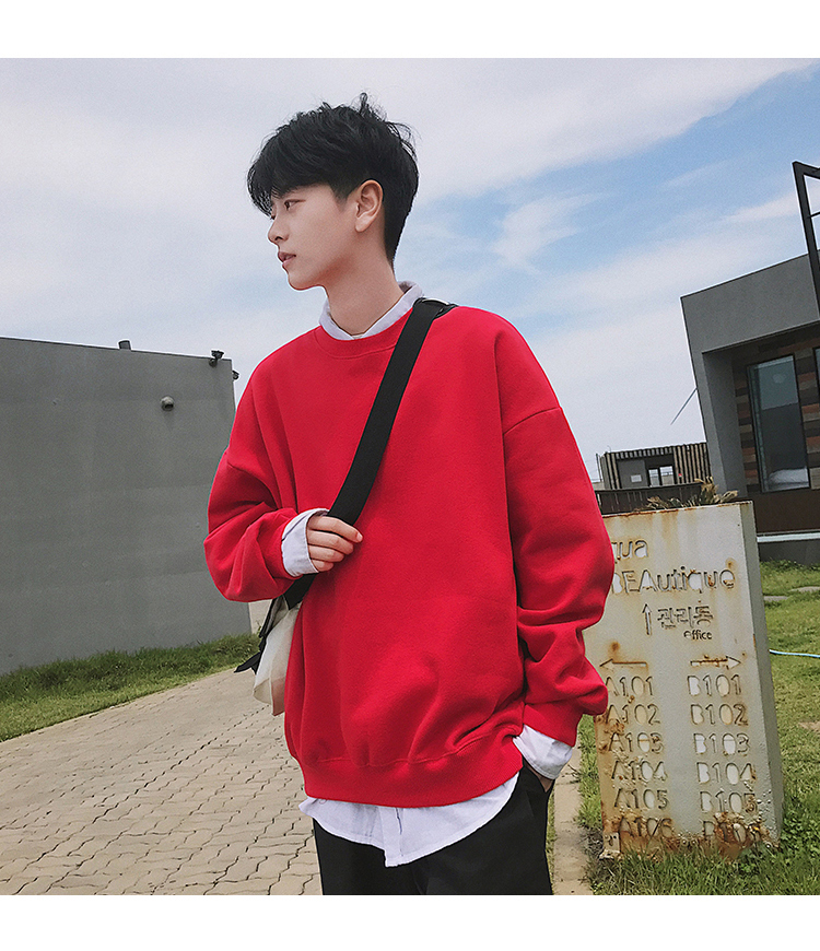 Men Hoodies Sweatshirts Street wear Black Hoodie Male Hip hop Winter Basic Hoodies 49