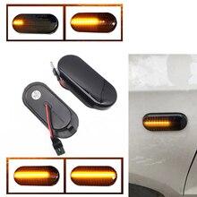 2 pezzi dinamico LED indicatore di direzione laterale indicatore luminoso per SEAT Leon 1P Ibiza Mk3 6L Mk4 6J Toledo Exeo berlina Exeo berlina Ex