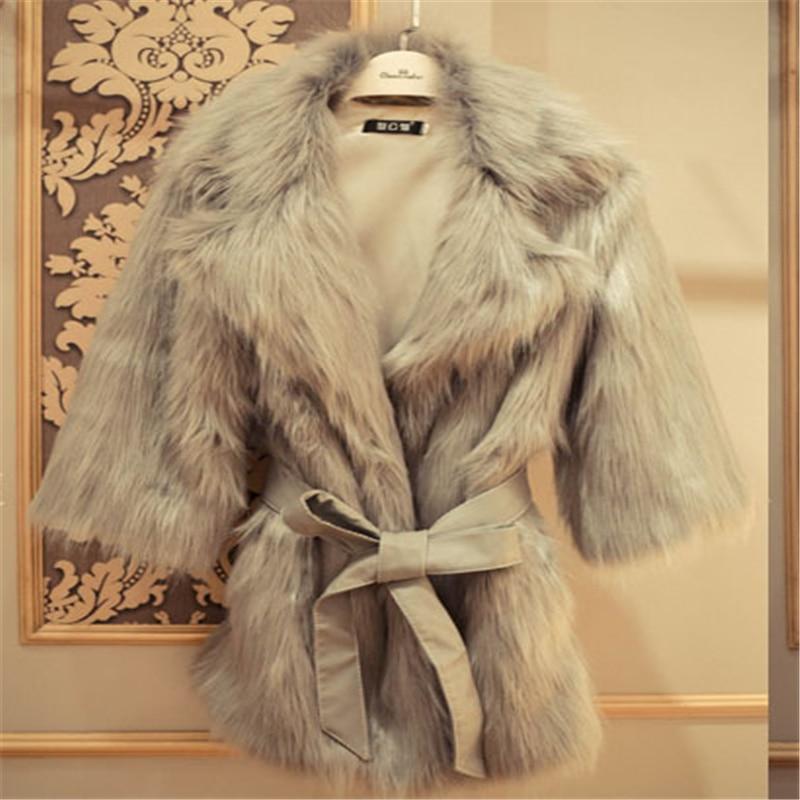 Fur Coat Women Winter 2019 Warm Cardigan with Fur Coat Vest White Plus Size Long Faux Fur Jacket Female Korean Fluffy Coat Teddy