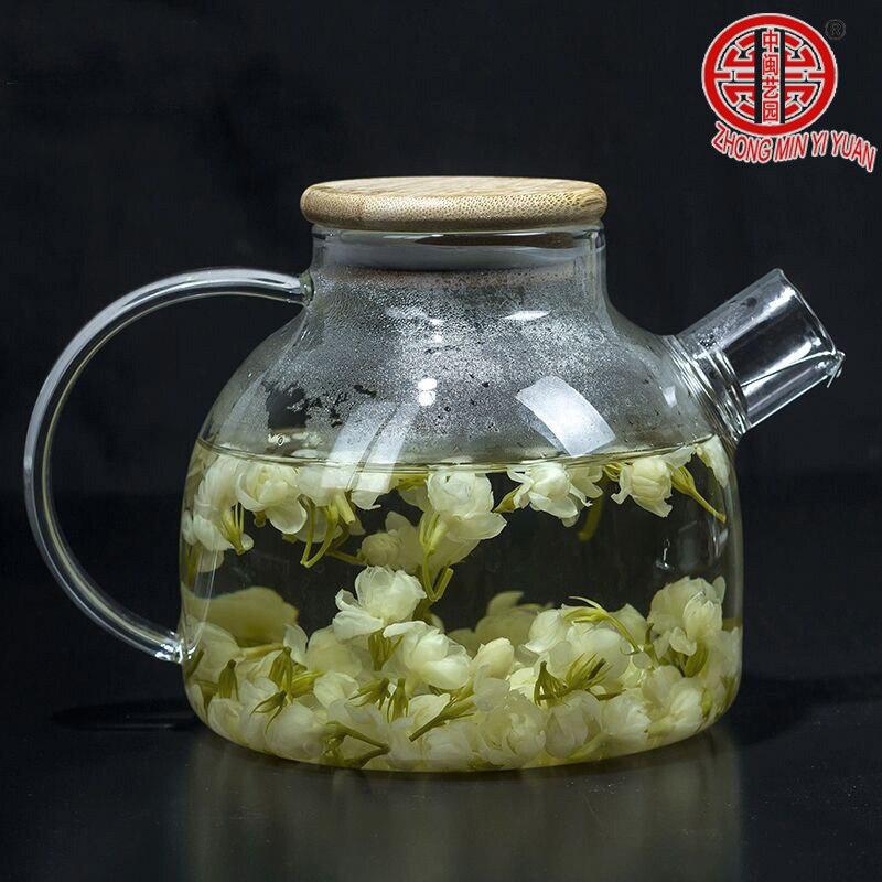 100g Fresh Jasmine Tea Natural Organic Premium Jasmine Green Tea Jasmine small Dragon Pearl Fragrance Flower Kung Fu Tea Food 3