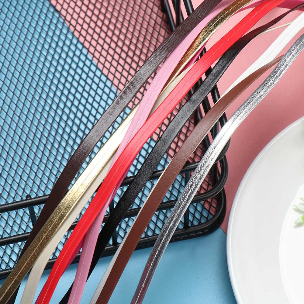 Super Mini Bambola Cinghia Del Sacchetto FAI DA TE Bambola Materiale Cinghie di Vita FAI DA TE Fatti A Mano Bambola Vestiti Borse Accessori di Cucito di Lunghezza 50 centimetri larghezza 3/5mm