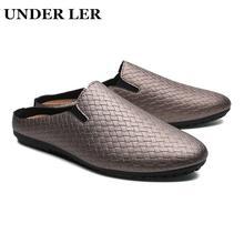 Сланцы для мужчин и женщин простая обувь дома Нескользящие шлепанцы