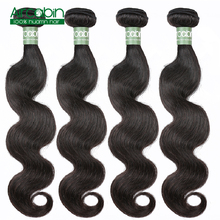 Peruvian Body Wave Bundles 100% Remy Human Hair 4 Bundles/Lot  Aircabin Hair Extensions Natural Black Can Be Dyed and Bleached Free shipping цена 2017