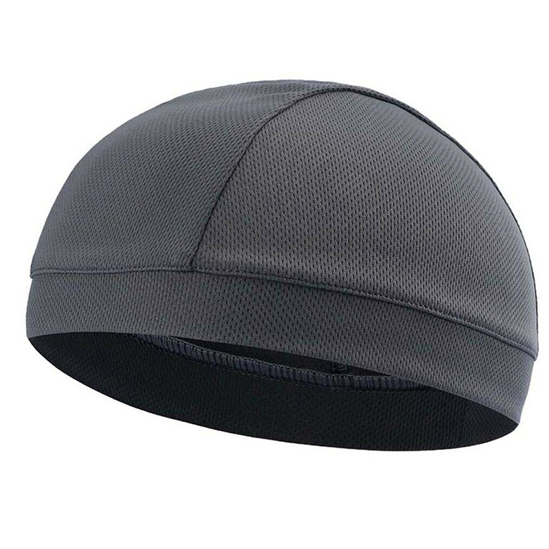 Fashion 1 Pcs Moisture Wicking Cooling Skull Cap Inner Liner Helmet Beanie Dome Cap Sweatband GM