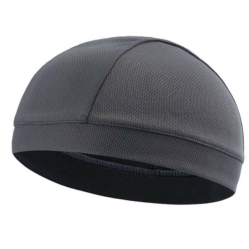 Fashion 1 Pcs Moisture Wicking Cooling Skull Cap Inner Liner Helmet Beanie Dome Cap Sweatband GM