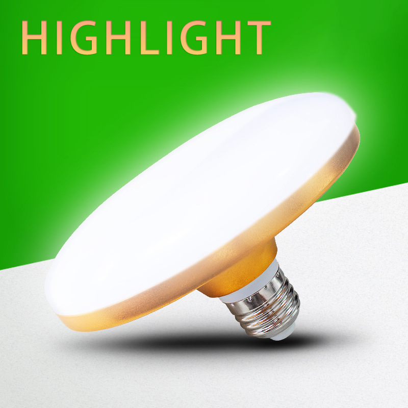 Three Proof LED Bulb Lamp 12w18w 24W 36W Aluminum Alloy Flying Saucer Lamp 36w220 Energy Saving LED Lamp