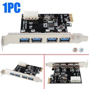 1 Set High Quality 4 Port PCI-