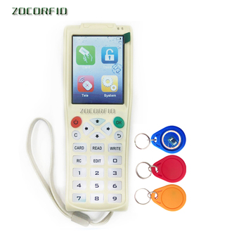 Original iCopy5 English More Frequency RFID Copier ID IC Reader Writer copy M1 13.56MHZ encrypted Duplicator Programmer