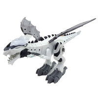 Machinery Spray Dinosaur Electric Light Spitfire Machinery War Dragon Model Science Dinosaur Model Toy