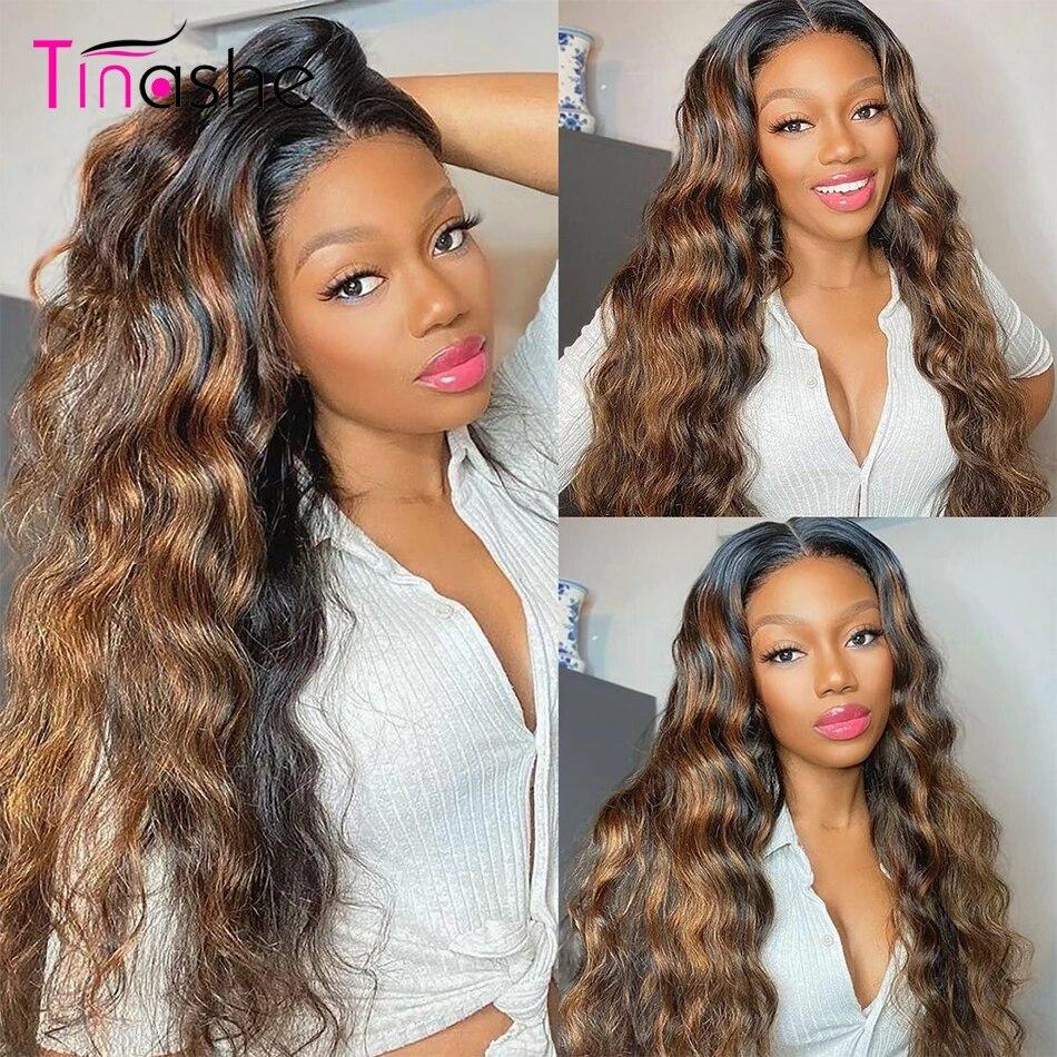 Perruque Lace Frontal Wig Body Wave brésilienne naturelle-Tinashe | 6x6, 13x6, perruque Lace Closure Wig, densité 250